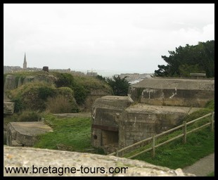 bunker of Saint Servan