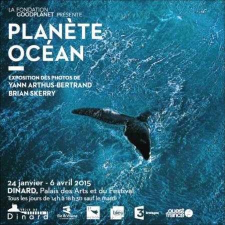 Affiche de l'exposition de Dinard sur l'océan