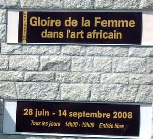 art africain au palais de Dinard