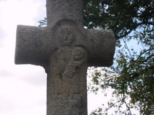calvaire de la chapelle Notre Dame de Beauvais au Theil de Bretagne