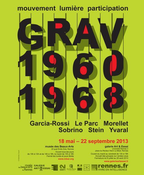 Grav, l'affiche de l'art cinétique
