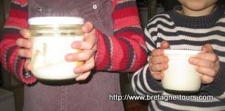 baratter du beurre avec les enfants