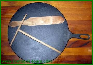 Bilg et spatule en bois