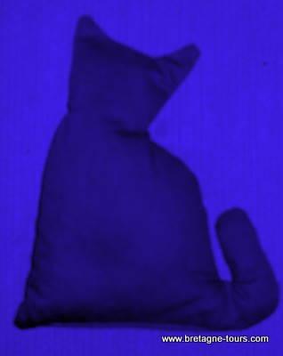 Bouillotte en forme de chat