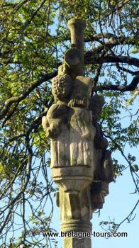 Calvaire de Saint Gildas à Carnoet