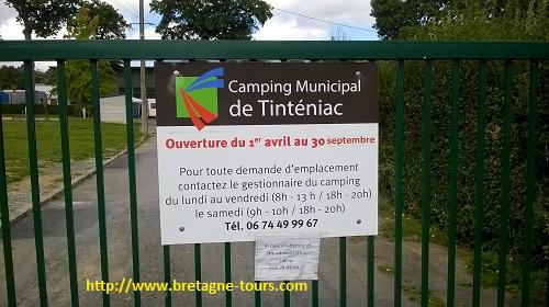 Camping municipal de Tinténiac