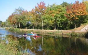 canal Saint Martin au nord de Rennes