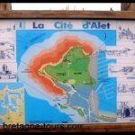 Balade dans un quartier de Saint Malo : la cité d'Aleth à Saint Servan (Bretagne