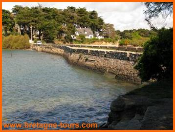 Bassin du moulin de Pen castel