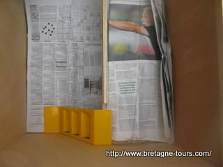 recouvrir le poulailler de journaux