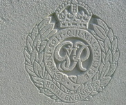 détail d'une tombe de la Royal Air Force