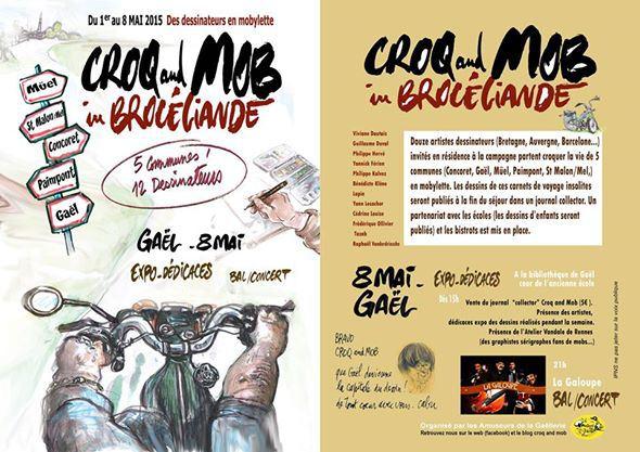 Affiche Croq and mob