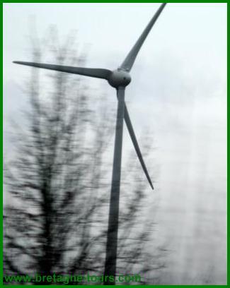 Pâles d'éolienne