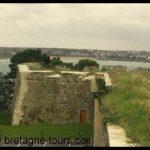 Visite du fort de la cité d'Aleth à Saint Servan (quartier de Saint Malo