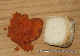 Doce de carottes pour fromage