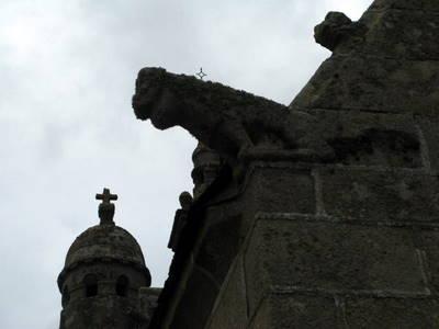 Gargouille d'une chapelle Beaumanoir