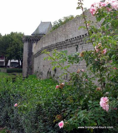 les remparts de Guérande