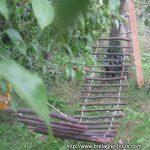 Faire soi même un hamac à accrocher entre deux arbres dans le jardin