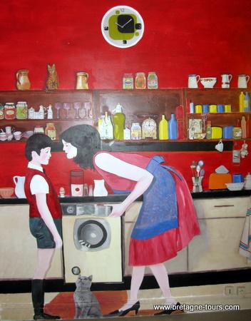fresque et cuisine
