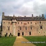 Le château de la Roche Jagu (22)