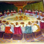 Tourisme dans la forêt de Brocéliande : l'église de Tréhorenteuc