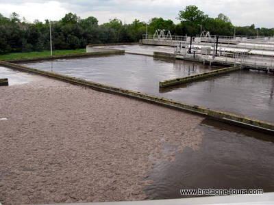 Les bassins de traitement des eaux