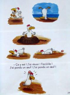 Extrait du livre de C.Jolibois et C. Heinrich : les petites poules p 27
