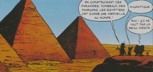 menhirs et pyramides