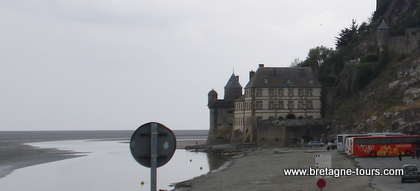 Tours du Mont saint Michel
