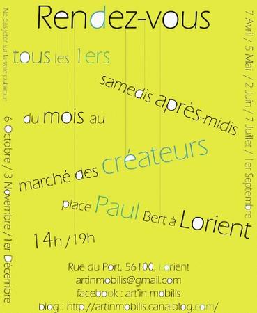 Marche des createurs de Lorient