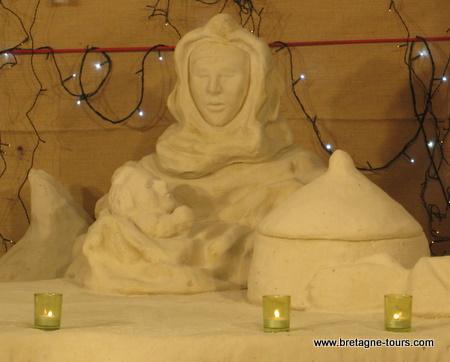 Marie en sable
