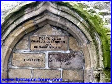 Marie Stuart et la chapelle Saint Ninien