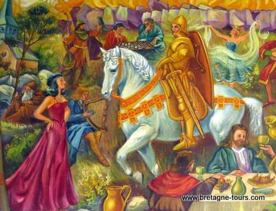 Morgane et les chevaliers
