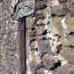 Maisons et châteaux de schiste rouge en Bretagne