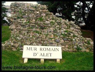 vestiges gallo-romains de Saint Servan