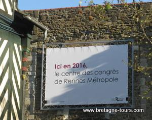 Centre des congres de Rennes en 2016