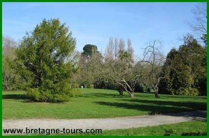 Le parc Maurepas à Rennes