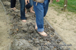 Parcours pieds nus