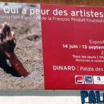 Exposition d'art contemporain (Pinault) au Palais des Arts de Dinard