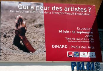 Qui a peur des artistes à Dinard
