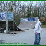 Où faire du skate board à Dinan (Bretagne) : le skate parc Cordier