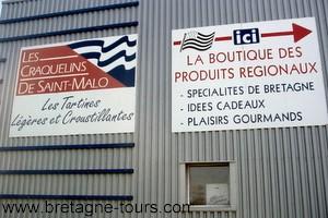site de production des craquelins de Saint Malo