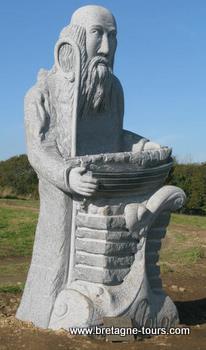 Photo de la statue de Malo