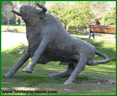 le parc du taureau est le deuxième nom du Parc Maurepas de Rennes