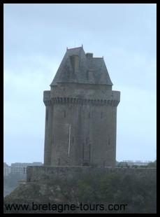 les courtines de la tour Solidor