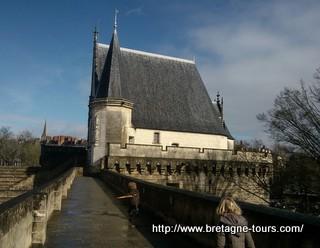 Tour du chateau de Nantes