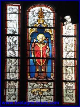 Vitrail de Saint Guénolé