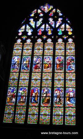 Vitrail de Saint Aubin