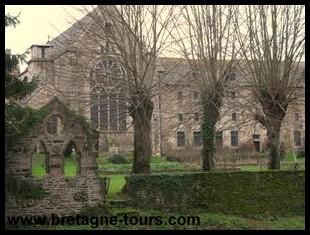 jardins et bâtiments conventuels de Léhon